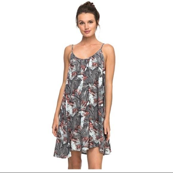 9104e5d3ef Roxy Dresses   Nwt Windy Fly Away Print Dress Cover Up   Poshmark